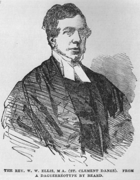 William Webb Ellis, inventor britânico do rugby moderno