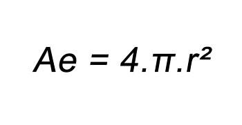 Fórmula da área da esfera