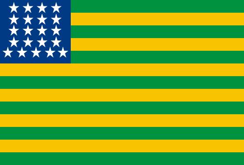 Décima primeira bandeira brasileira: bandeira do Brasil República