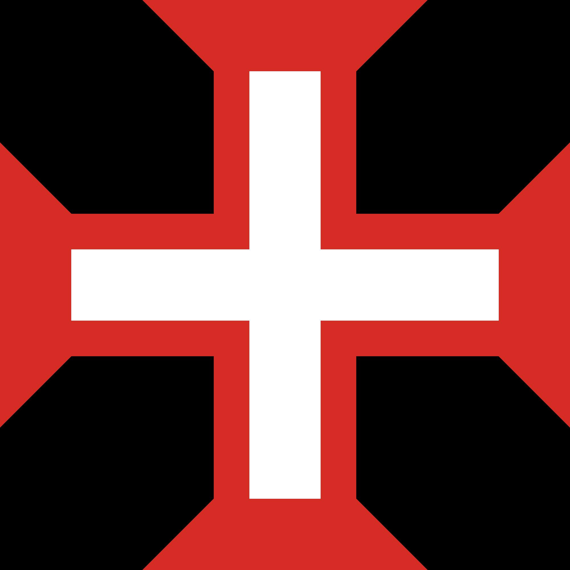 Primeira bandeira brasileira: Bandeira da ordem de cristo