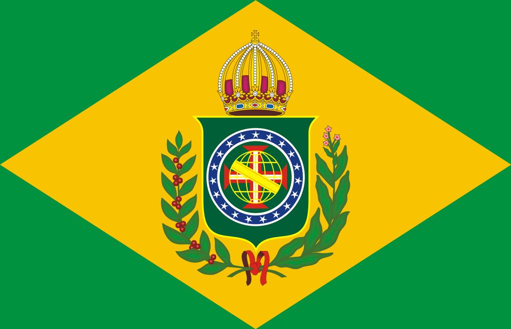 Décima bandeira brasileira: Bandeira do brasil império
