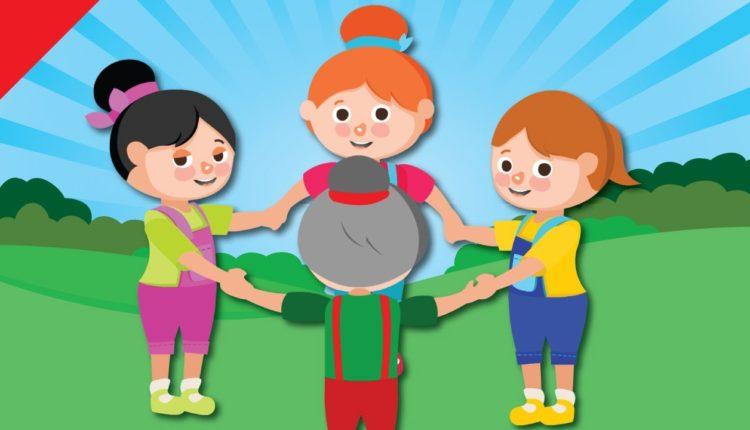 Brincadeiras de roda Antigas e Cantada - Educação Infantil