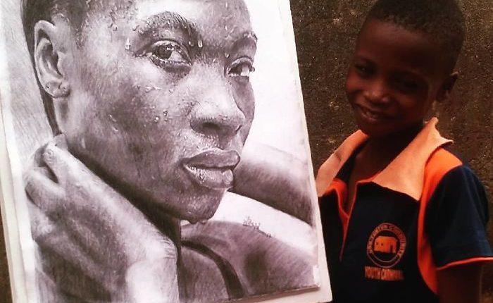 Nigeriano de 11 anos conquista o mundo com desenhos hiper-realistas