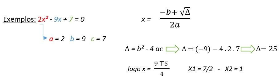Exercício de Equação de Segundo Grau