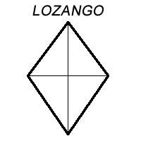 Figuras Geométricas: Lozango