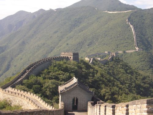 Foto da Muralha da China