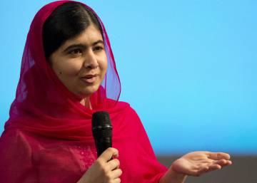 Malala chega ao Brasil - São Paulo
