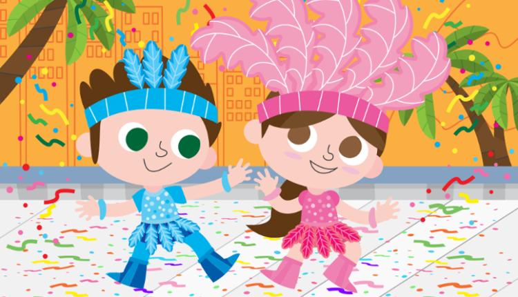 6 Marchinhas de carnaval para Crianças - Educação Infantil