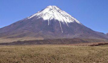 Montanha feita de vulcão