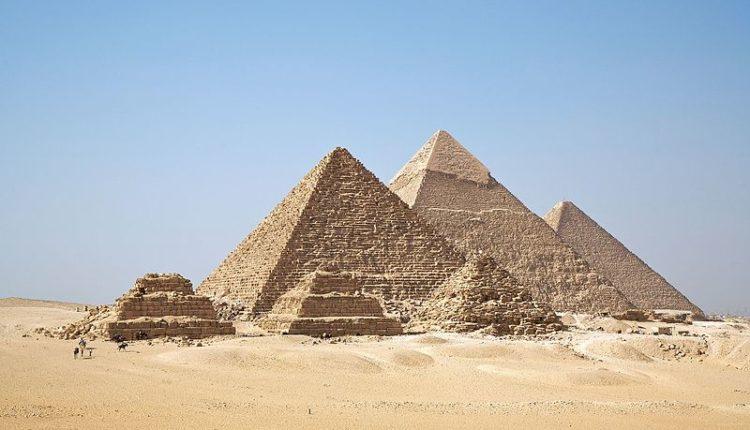 Pirâmides do Giza localizada no Egito