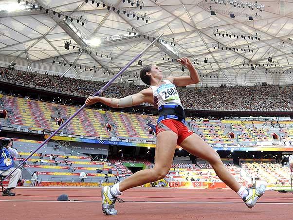 Atletismo: Prova de Arremesso