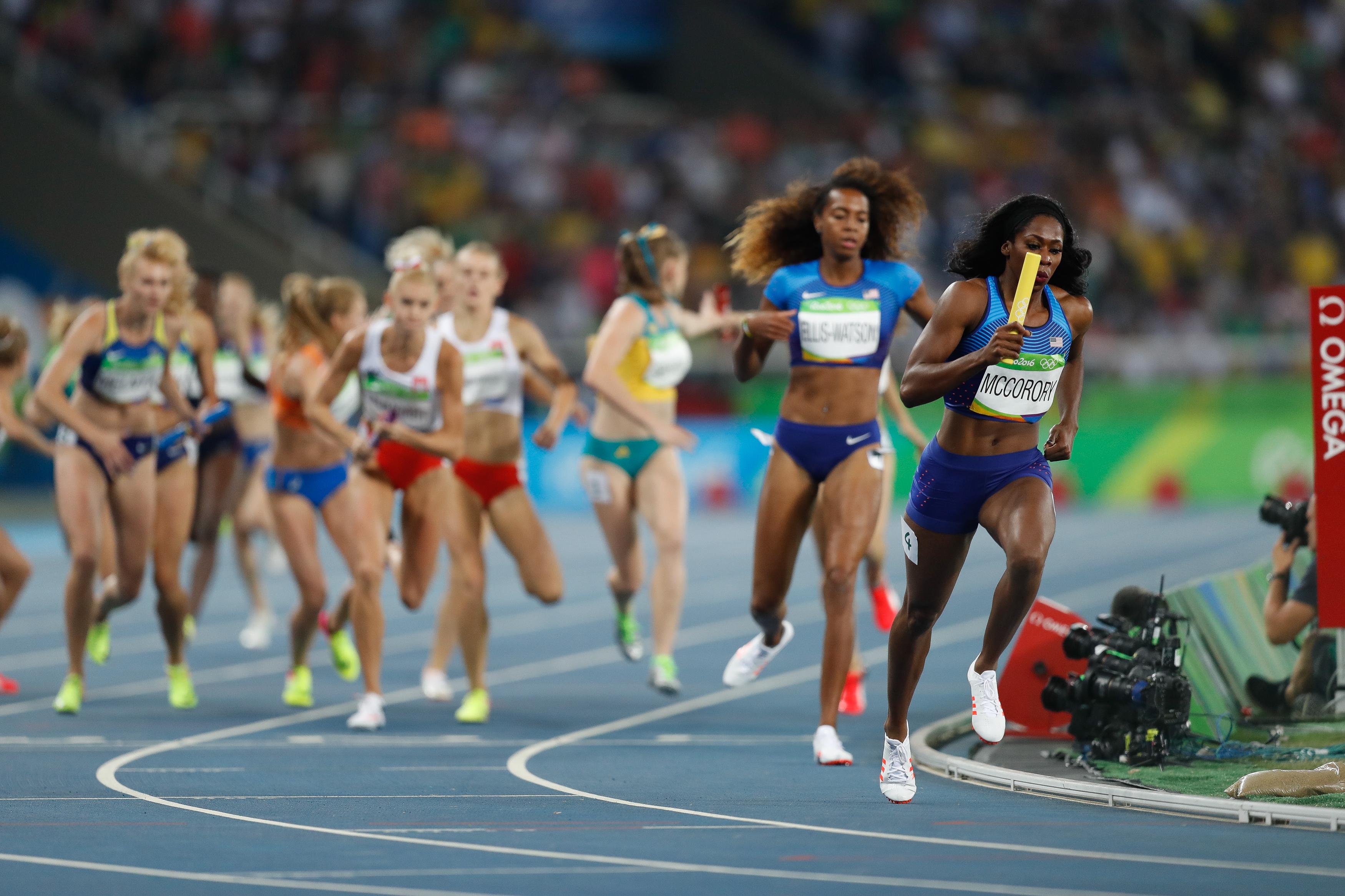 Provas de Atletismo: Revezamento