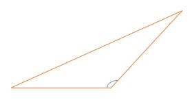 Figura Geométrica: Triângulo Obtusângulo