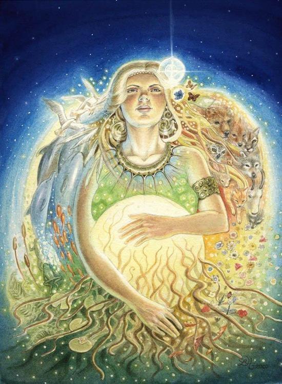 Wicca Deusa Mãe