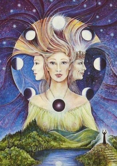 Wicca deusa Triplice