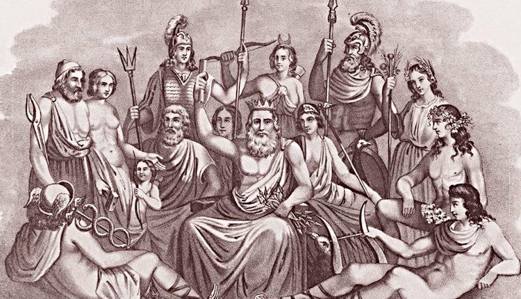 Principais Deuses da Mitologia Grega - Lista de deuses mitológicos e deuses do Olimpo