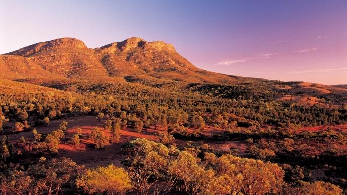 Turismo na Austrália: Cordilheira Flinders