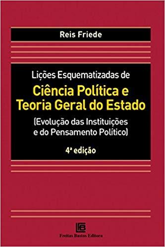 Livro - Lições Esquematizadas de Ciência Política e Teoria Geral do Estado