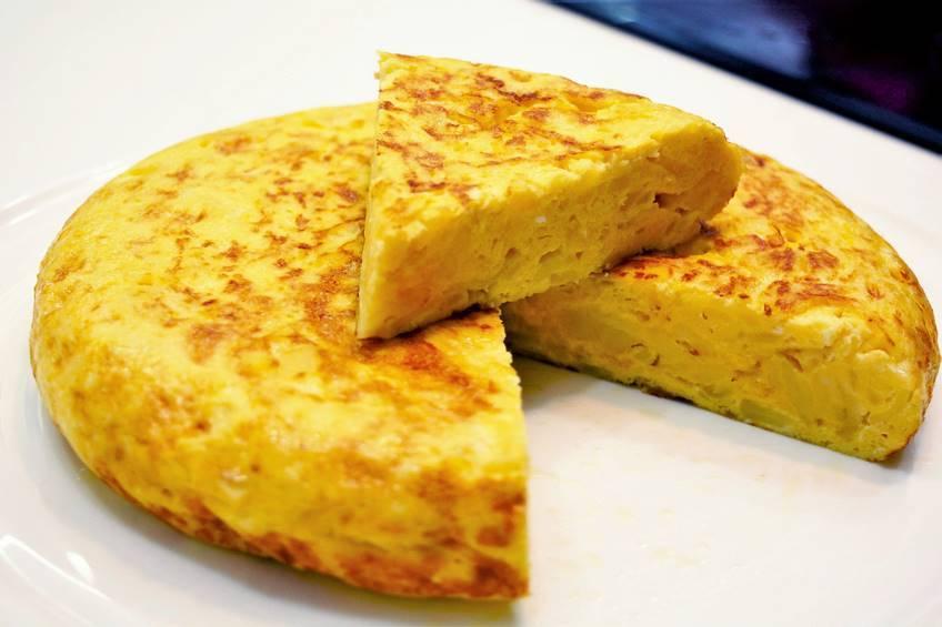 Prato Espanhol Muito consumido - Tortilla de Patata