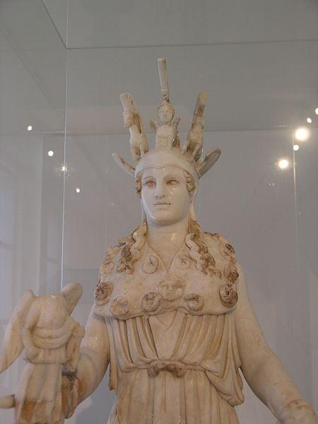 Estátua da deusa Atena
