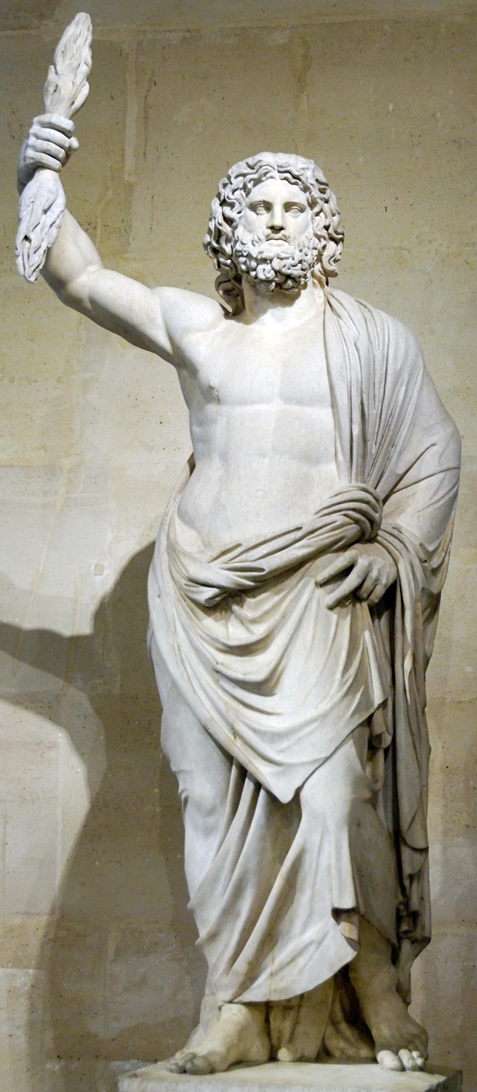 zeus deus grego estatua