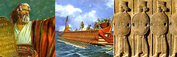 Resumo dos povos Hebreus, Fenícios e Persas - Primeiras Civilizações