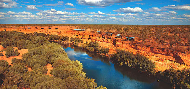 Outback Australiano: Lagos Secos