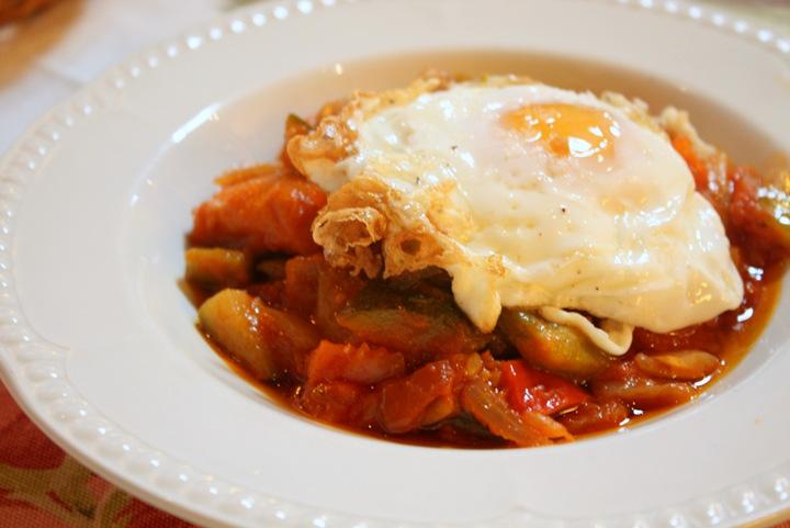 Comidas típicas espanholas - Pisto