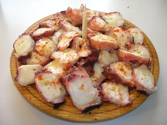 Polvo Galego - Prato tipico da Espanha