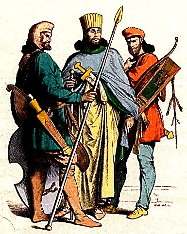 Nobre e soldados Persas
