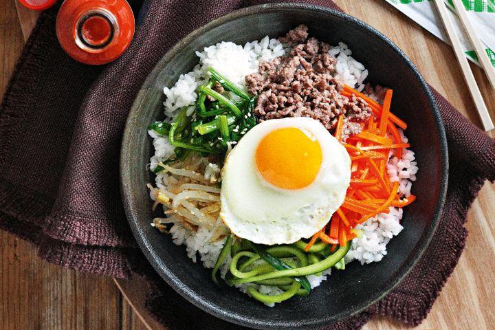 Pratos Conhecidos na Coréia - Bibimbap