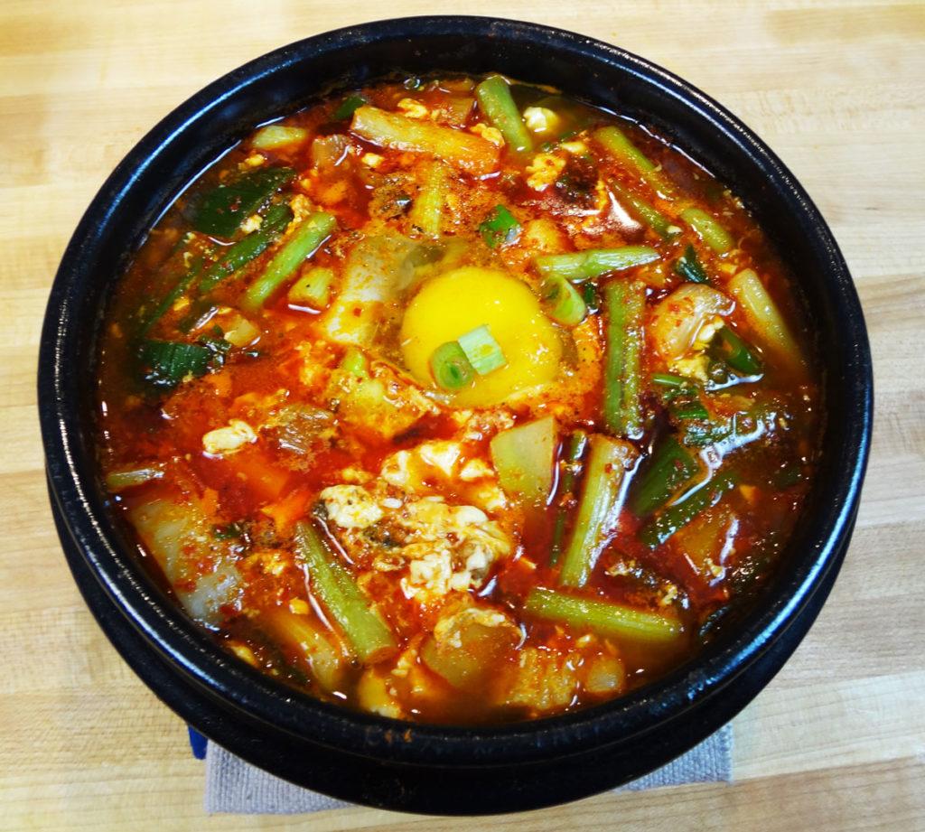 Sopa Coreana - Haemul-sundubu-jjigae