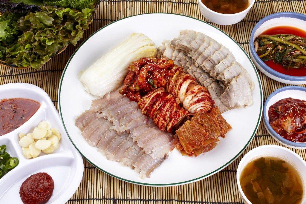 Prato Coreano a Base de Peixe - Hongeo-hoe