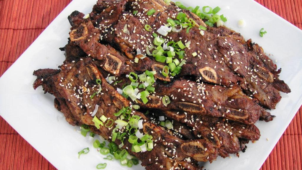 Carne Famosa na Coréia - Kalbi ou Galbi