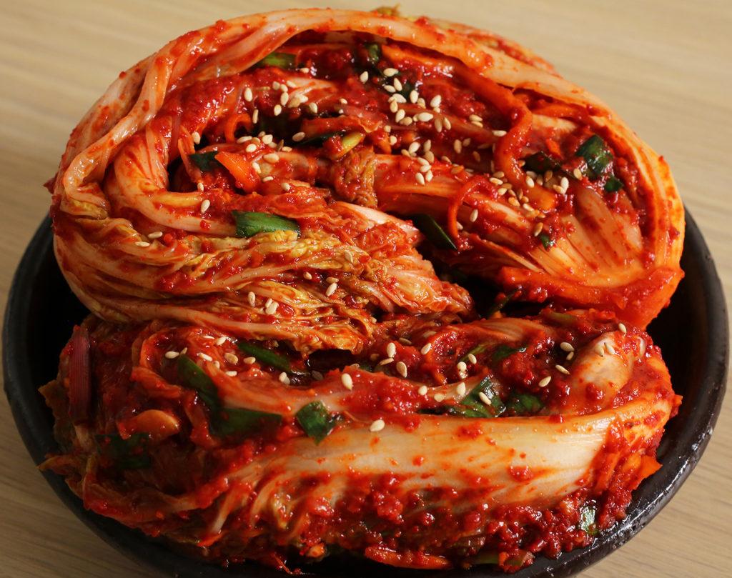 Comidas da Coreia do Sul - Kimchi