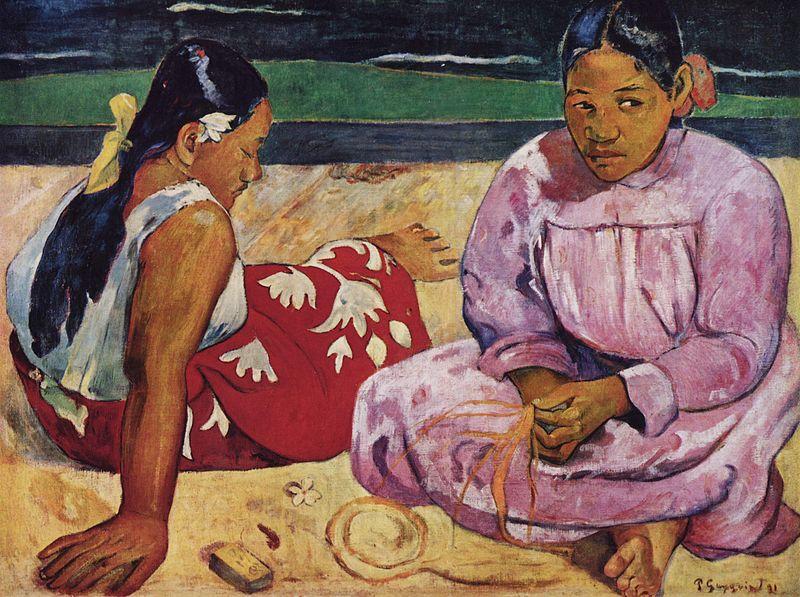 Mulheres de Taiti na Praia (1891)
