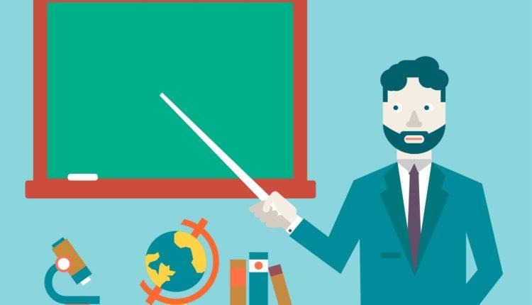 Falta de interesse para a área de professor