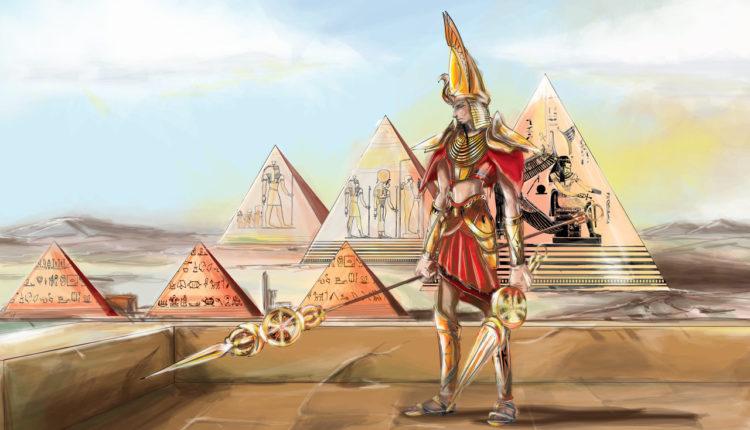 Deus Egípcio - Amon-Rá