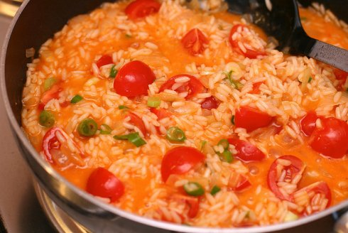 lisboa culinária portuguesa - Arroz Tomate