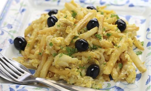 pratos salgados da culinária portuguesa - Bacalhau