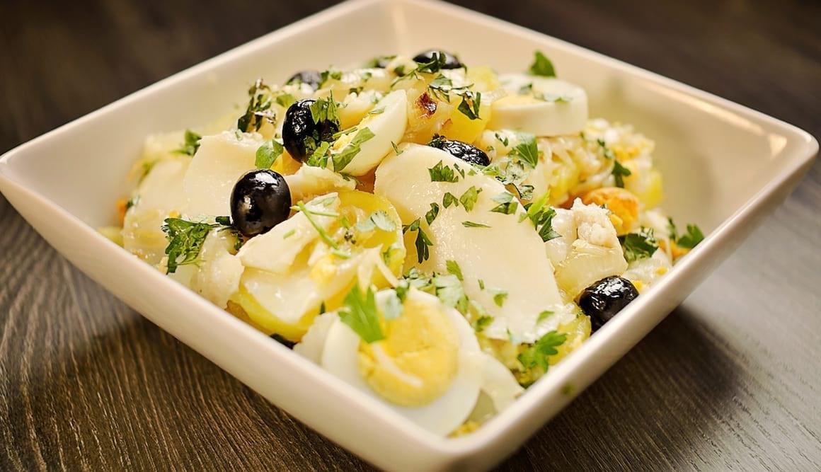 Pratos típicos da culinária portuguesa - Bacalhau
