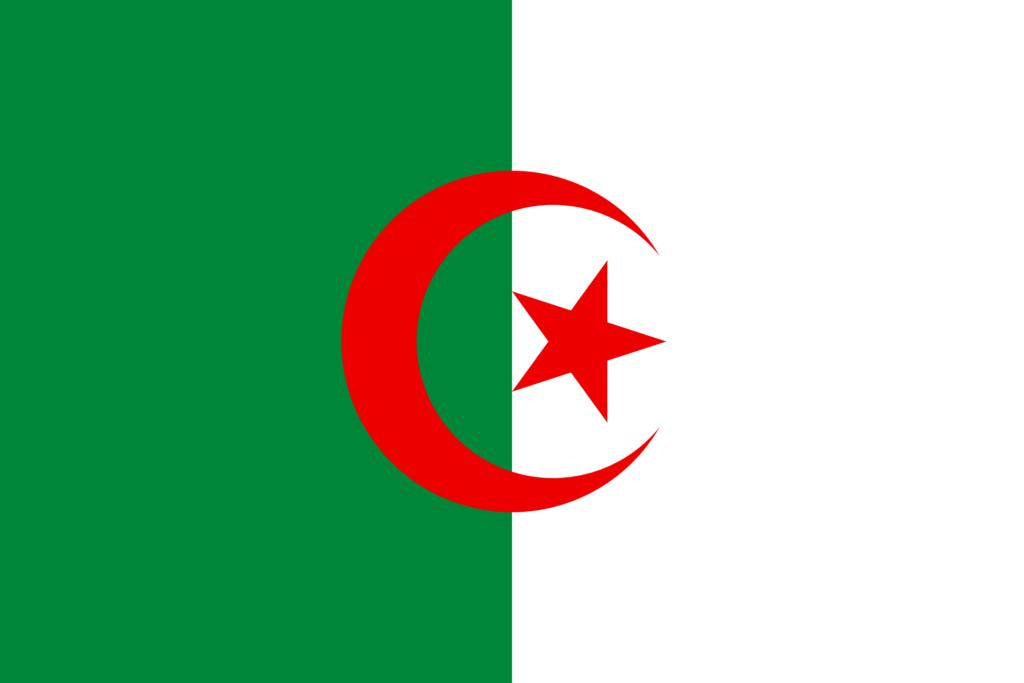 Argélia (2,381,741 km)