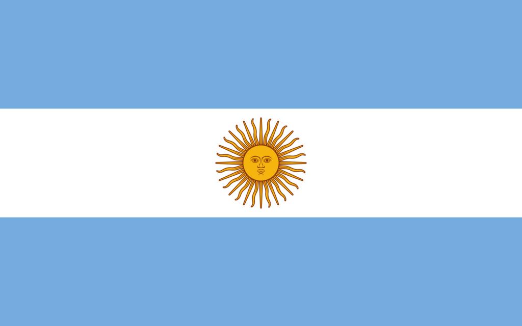 Argentina (2,780,400 km)