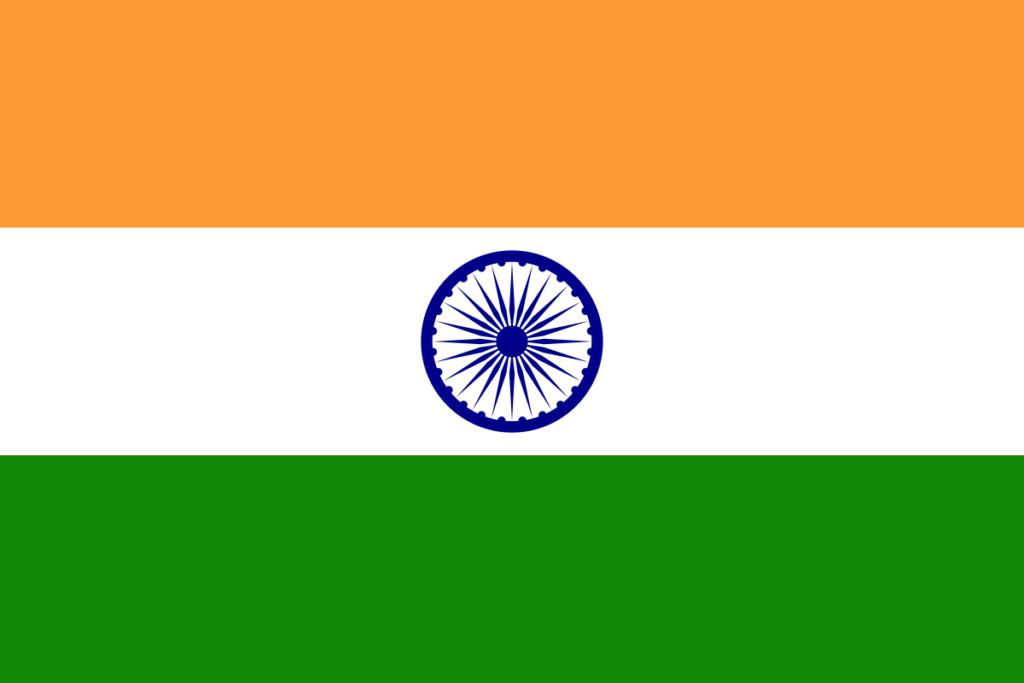 Índia (3,287,263 km)