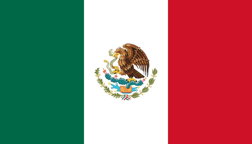 México (1,964,375 km)