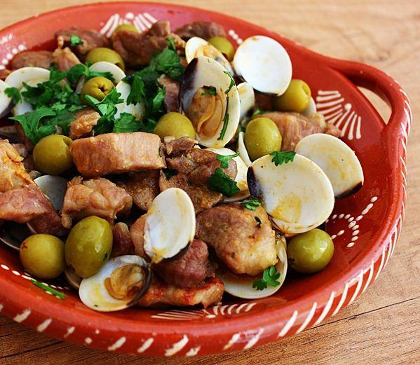prato típico da região do Alentejo - Carne de Porco à Alentejana