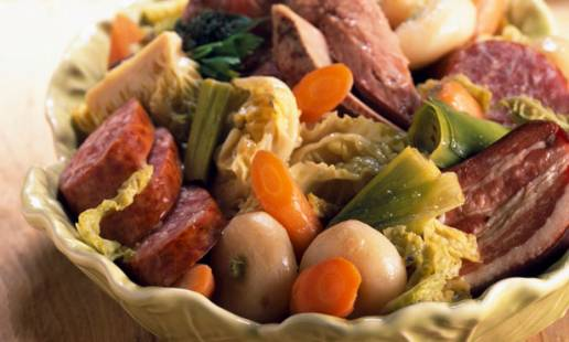 comida tradicional portuguesa - Cozido
