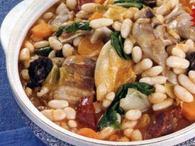comida tipica portuguesa - Feijoada