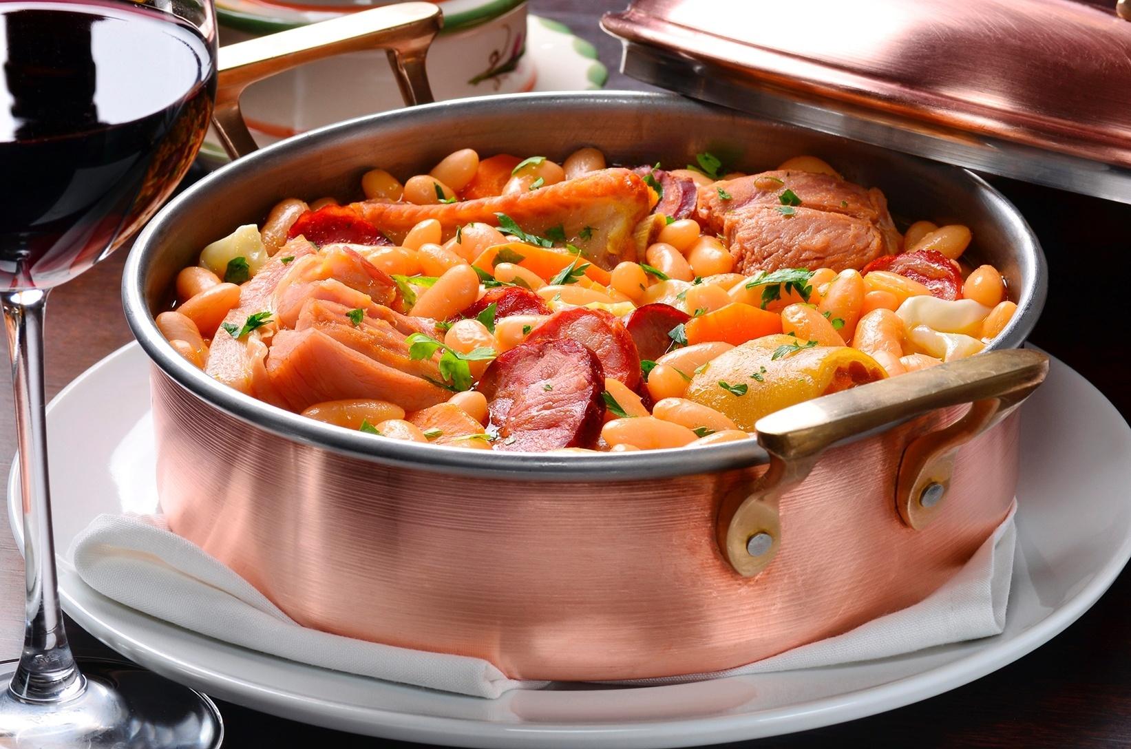 comida de origem portuguesa - Feijoada Trasmontada