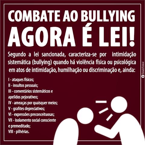 Cartaz Bullying
